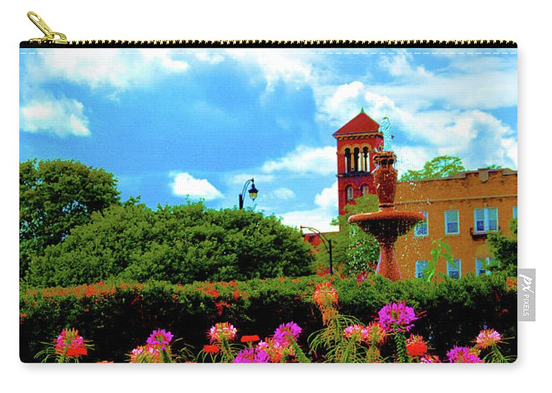 Nature Carry-all Pouch featuring the photograph Historic Rochester Gardens by Richard Jenkins