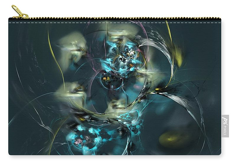 Fantasy Carry-all Pouch featuring the digital art Hive by David Lane