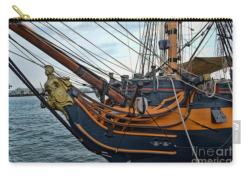 Ship Carry-all Pouch featuring the photograph Hms Surprise 3 by Tommy Anderson