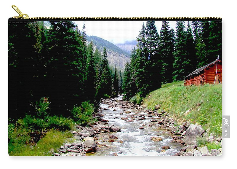 Hobock Carry-all Pouch featuring the photograph Hobock Canyon by Terry Anderson