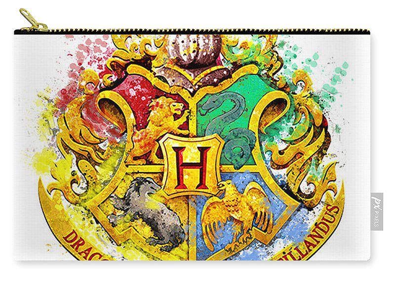Hogwarts Crest Carry All Pouch For Sale By Midex Planet