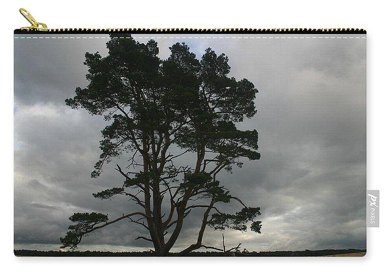 Storm Carry-all Pouch featuring the photograph Holland Desert by Minaz Jantz