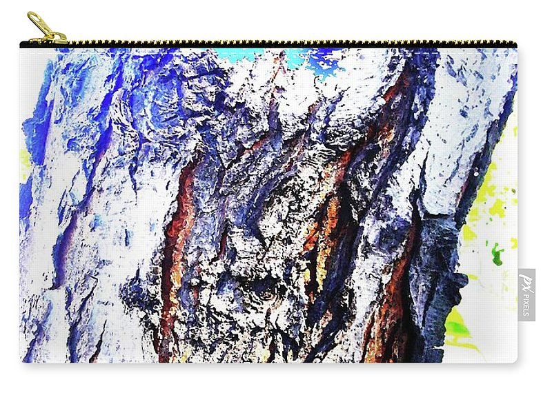Holy Carry-all Pouch featuring the digital art Holy Man by Ronald Irwin