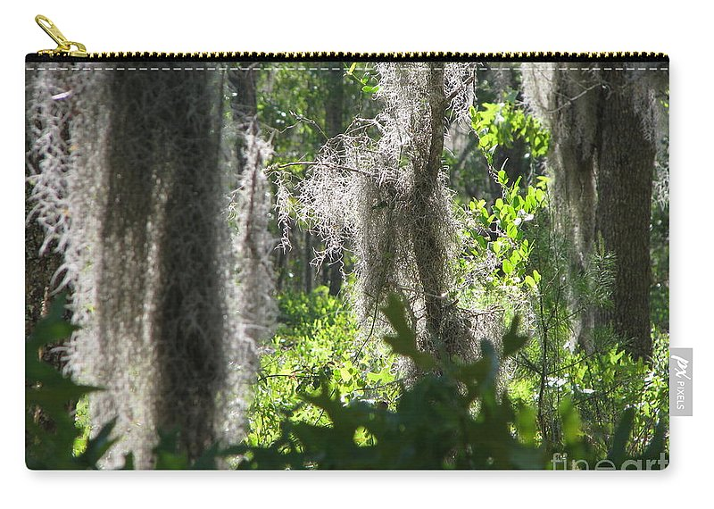 Florida Carry-all Pouch featuring the photograph Home by Greg Patzer