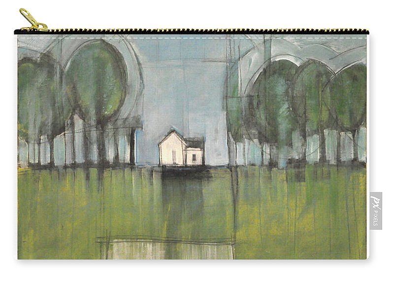 Home Carry-all Pouch featuring the painting Home Is by Tim Nyberg