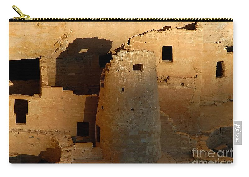 Anasazi Carry-all Pouch featuring the photograph Home Of The Anasazi by David Lee Thompson