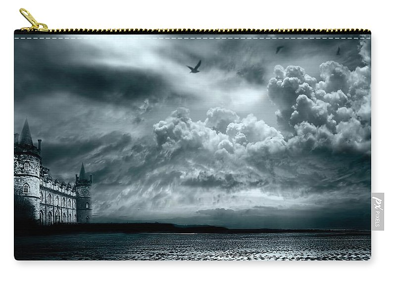Beach Carry-all Pouch featuring the photograph Home by Jacky Gerritsen