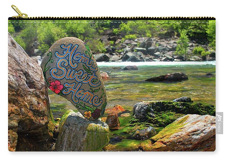 Carry-all Pouch featuring the photograph Home Sweet Home by Kathy Partak