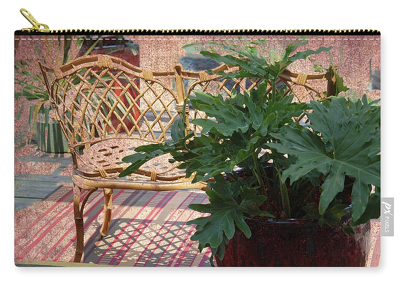 Home Sweet Home Carry-all Pouch featuring the photograph Home Sweet Home by Susanne Van Hulst