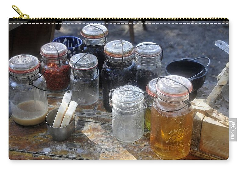 Homemade Carry-all Pouch featuring the photograph Homemade by David Lee Thompson