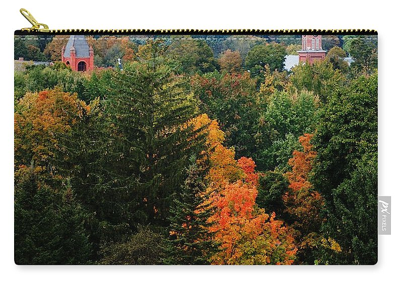 Landscape Carry-all Pouch featuring the photograph Homer Ny by David Lane