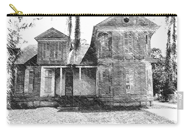Louisiana Carry-all Pouch featuring the photograph Homestead 2 by Dick Goodman