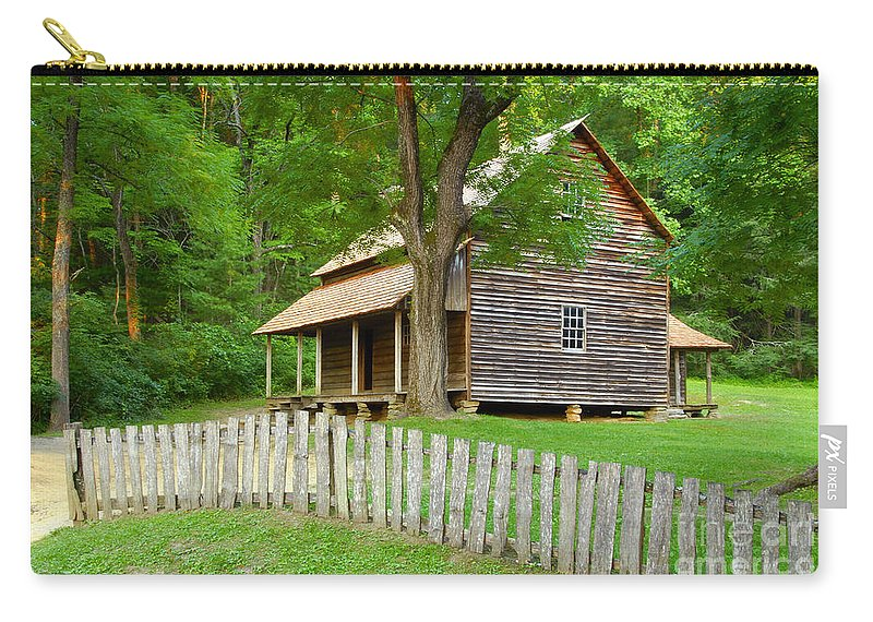 Home Carry-all Pouch featuring the photograph Homestead by David Lee Thompson
