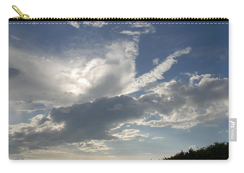 Sky Carry-all Pouch featuring the photograph Homestead Sky by Rob Hans