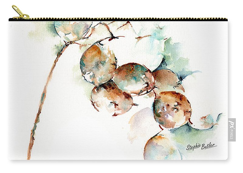 Stephie Butler Carry-all Pouch featuring the painting Honesty by Stephie Butler