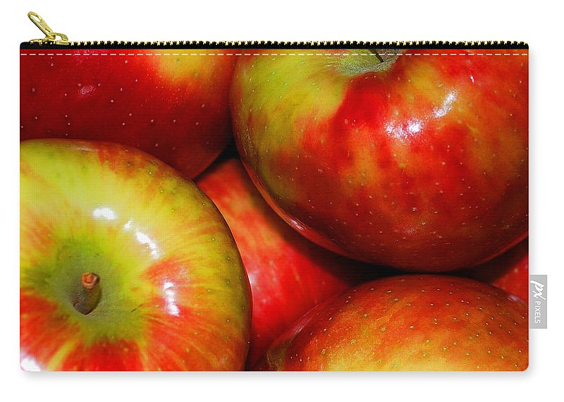 Apple Carry-all Pouch featuring the photograph Honeycrisp Apples by Nancy Mueller