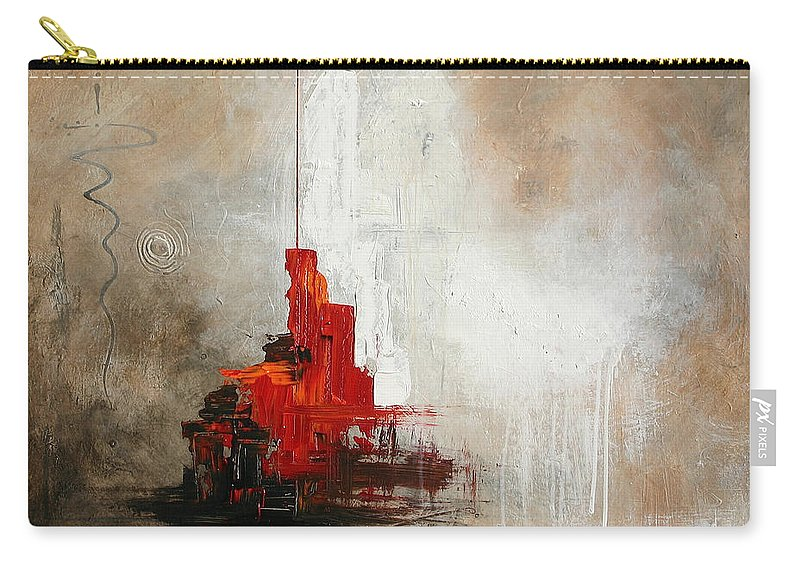 Vital Germaine Carry-all Pouch featuring the painting Hong Kong by Germaine Fine Art