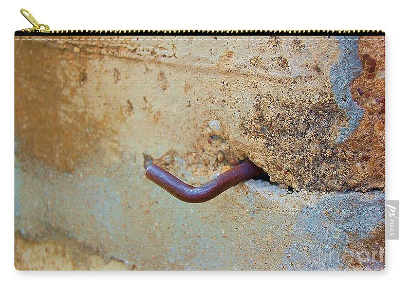 Metal Carry-all Pouch featuring the photograph Hook by Debbi Granruth