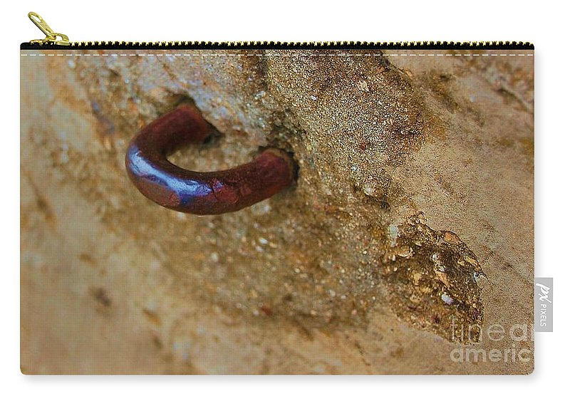 Concrete Carry-all Pouch featuring the photograph Hooked by Debbi Granruth