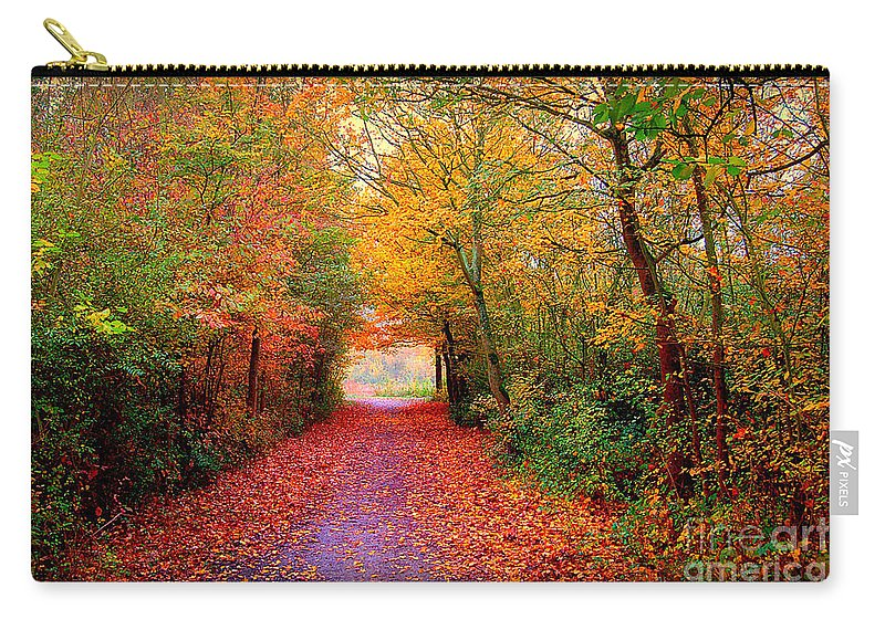 Autumn Carry-all Pouch featuring the photograph Hope by Jacky Gerritsen