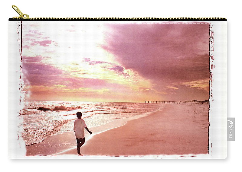 Sunset Carry-all Pouch featuring the photograph Hope's Horizon by Marie Hicks