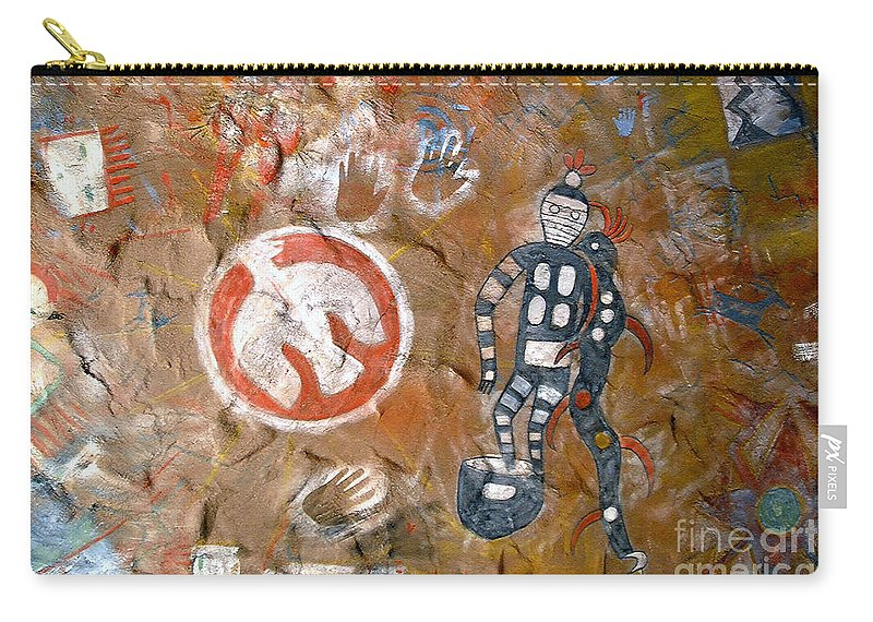 Hopi Indians Carry-all Pouch featuring the photograph Hopi Dreams by David Lee Thompson