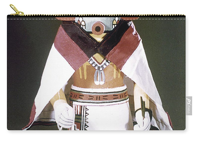 Arizona Carry-all Pouch featuring the photograph Hopi Kachina Doll by Granger