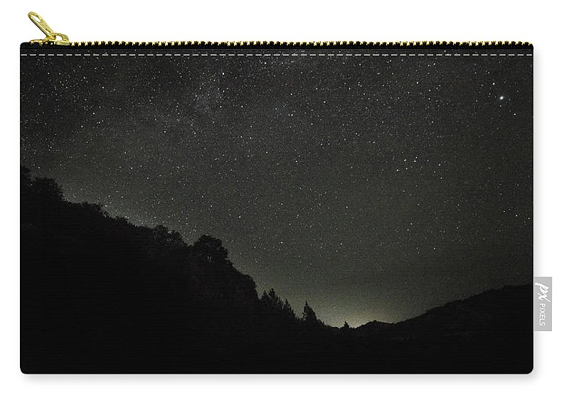 Carry-all Pouch featuring the photograph Horizon by Jade Woods