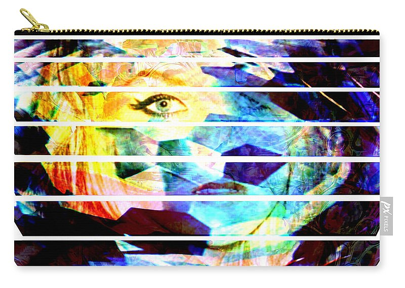 Woman Carry-all Pouch featuring the digital art Horizontal View by Seth Weaver