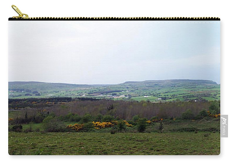 Ireland Carry-all Pouch featuring the photograph Horses at Lough Arrow County Sligo Ireland by Teresa Mucha