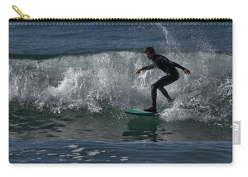 Surf Carry-all Pouch featuring the photograph Hot Dang by Michael Gordon