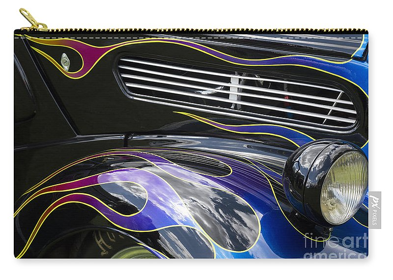 Hot Carry-all Pouch featuring the photograph Hot Rod 6 by Wendy Wilton