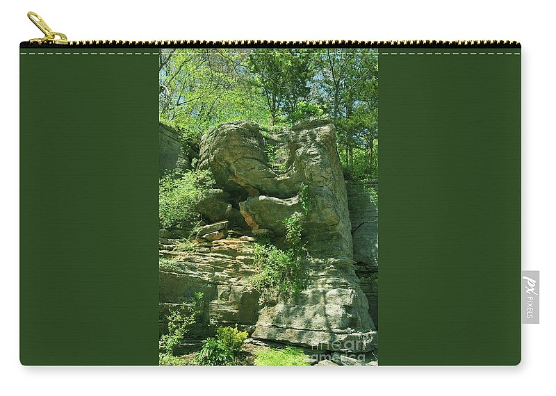 Hot Carry-all Pouch featuring the photograph Hot Springs by Kathleen Struckle