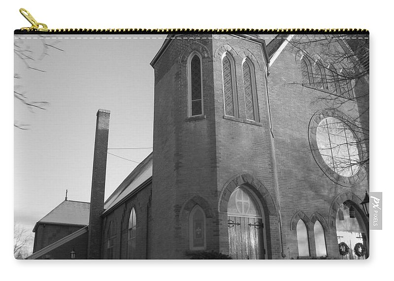 House Carry-all Pouch featuring the photograph House of God by Rhonda Barrett