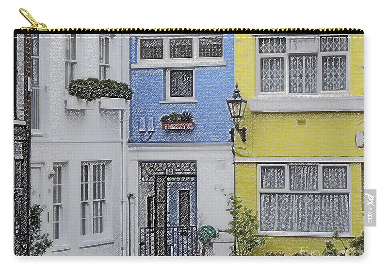 House Carry-all Pouch featuring the photograph Houses by Amanda Barcon