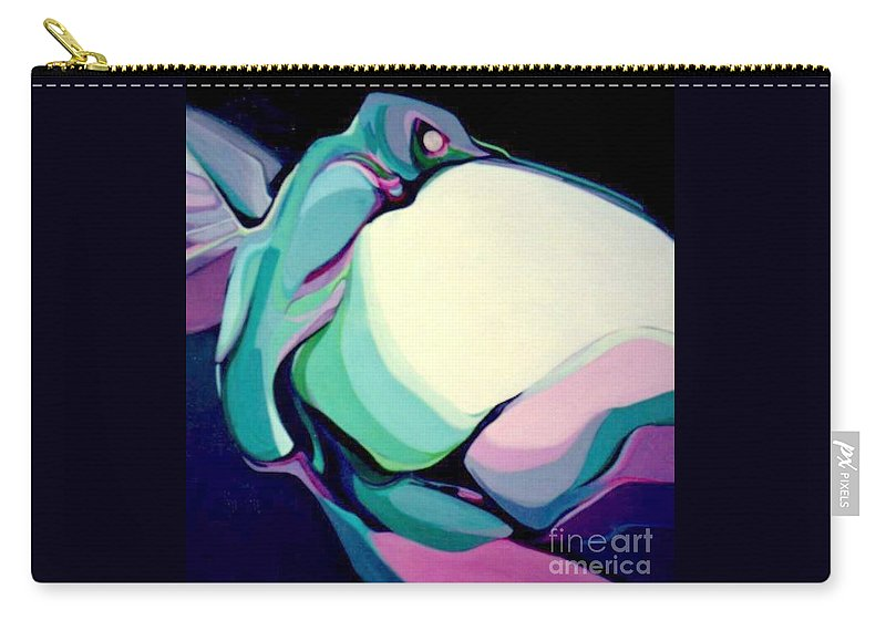 Hummingbird Carry-all Pouch featuring the painting Hummer One by Marlene Burns