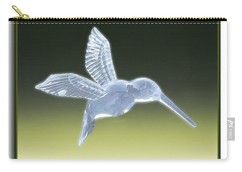 2d Carry-all Pouch featuring the photograph Hummingbird by Brian Wallace