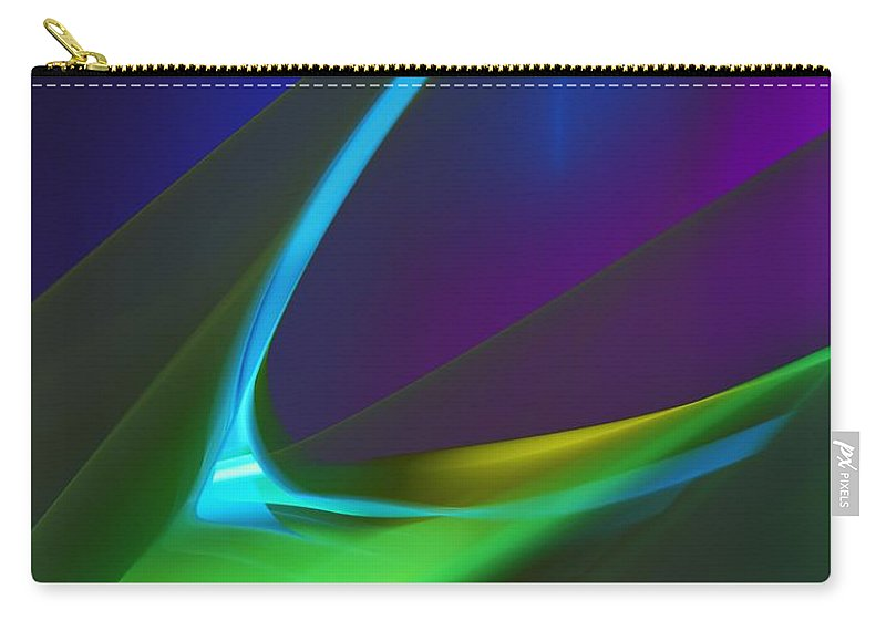 Fine Art Carry-all Pouch featuring the digital art Hunger by David Lane