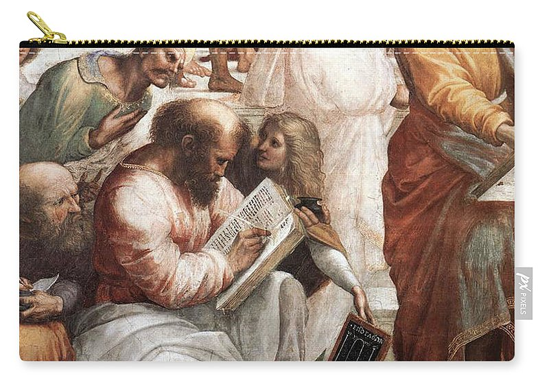 Science Carry-all Pouch featuring the photograph Hypatia Of Alexandria, Mathematician by Science Source