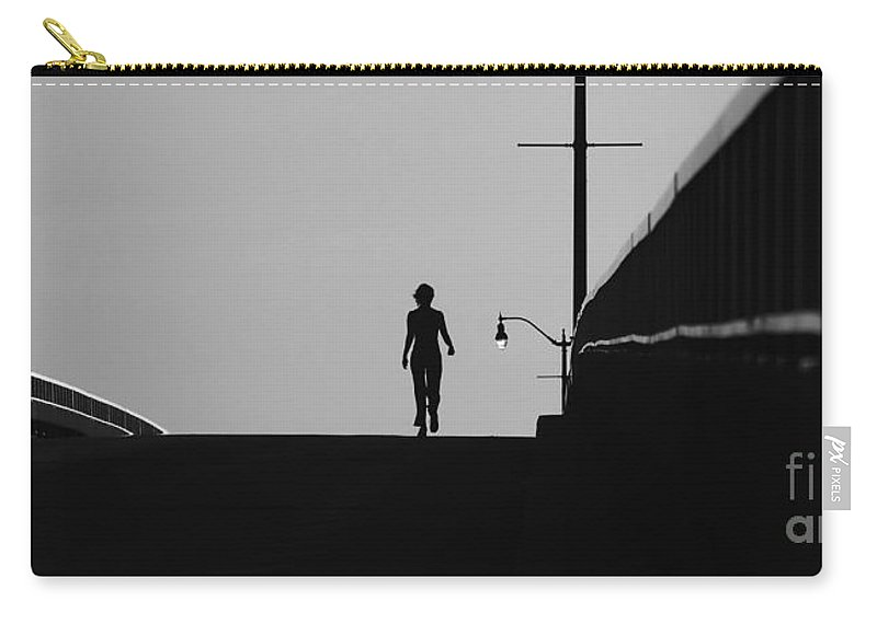 Female Carry-all Pouch featuring the photograph I Am Woman by David Lee Thompson