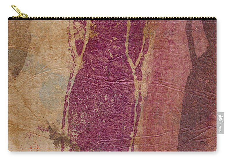 Wood Carry-all Pouch featuring the mixed media I Am Woman Yes I Am by Angela L Walker