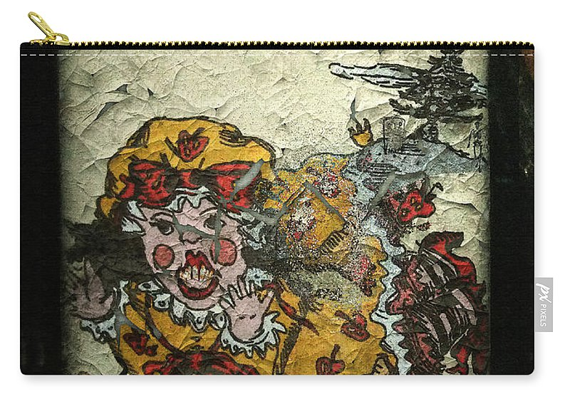 Ancient Carry-all Pouch featuring the painting I Dont Want Any by RC DeWinter