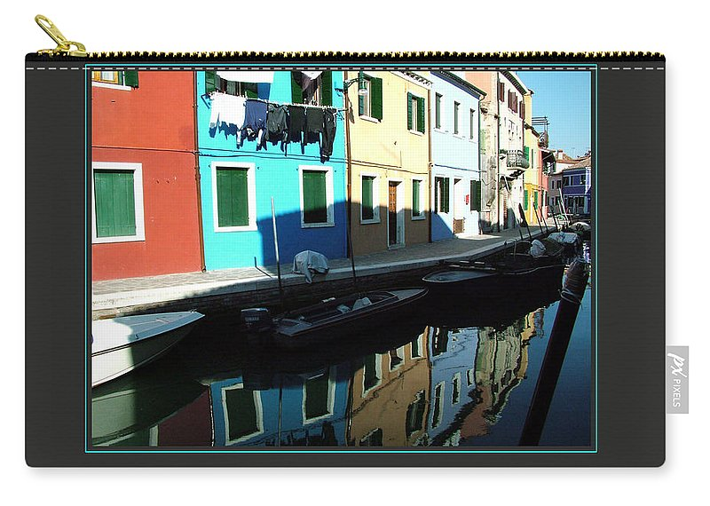 Motivational Carry-all Pouch featuring the photograph I Focus On Good Things by Donna Corless