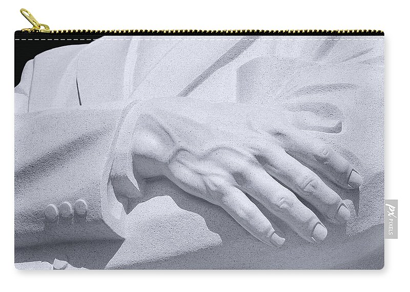 Martin Luther King Jr Memorial Carry-all Pouch featuring the photograph I Have A Dream by Iryna Goodall