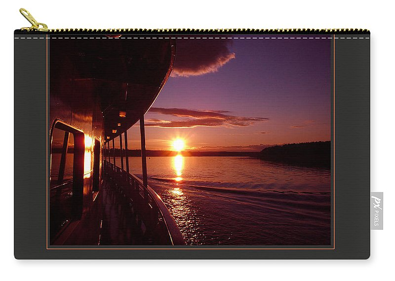 Motivational Carry-all Pouch featuring the photograph I Live My Dreams With Passion And Purpose by Donna Corless