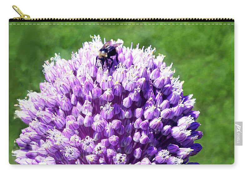I Think I Hear A Who Carry-all Pouch featuring the photograph I Think I Hear A Who by Methune Hively
