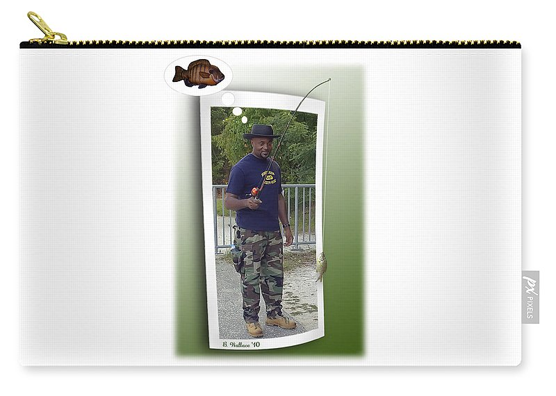 2d Carry-all Pouch featuring the photograph I Thought It Was Bigger by Brian Wallace