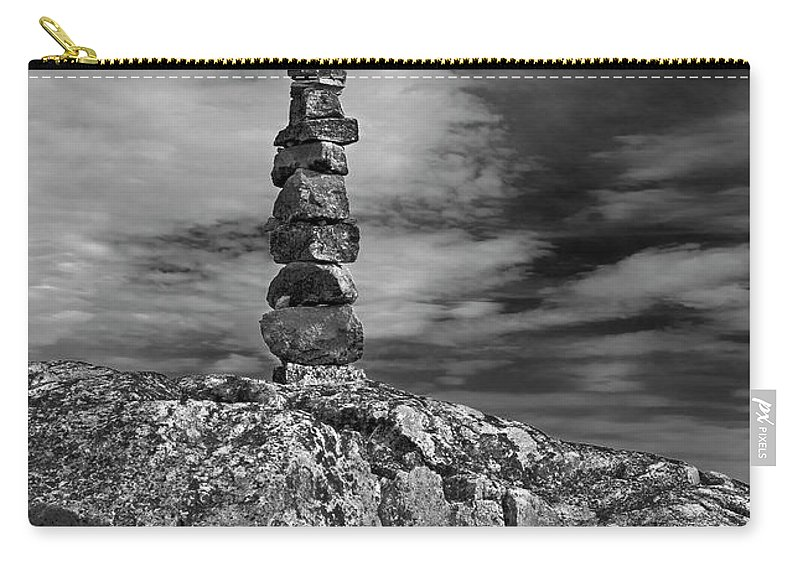 Nina Stavlund Carry-all Pouch featuring the photograph I Was Here.. by Nina Stavlund