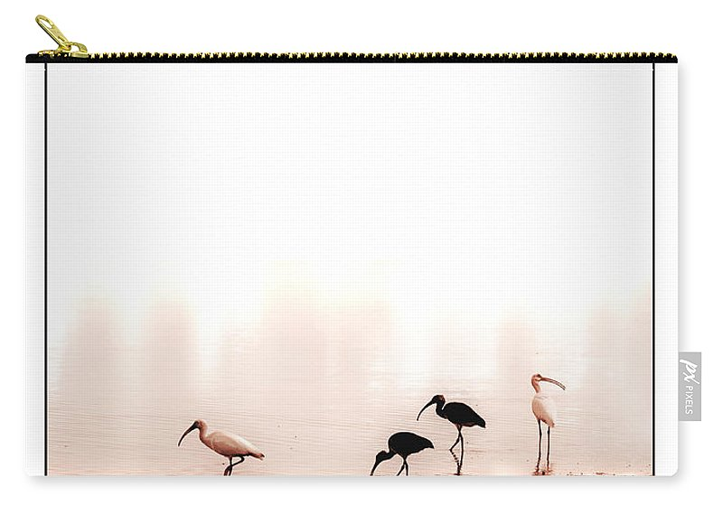 Ibis Carry-all Pouch featuring the photograph Ibis by Mal Bray