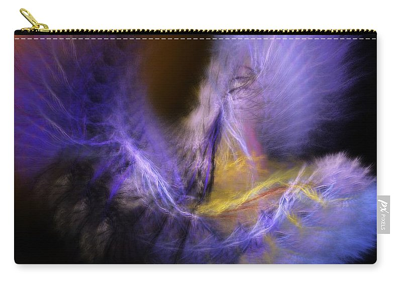Fantasy Carry-all Pouch featuring the digital art Icarus by David Lane